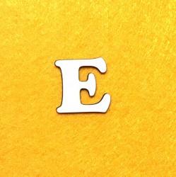 Raidė E (3 cm, 7 šriftas)