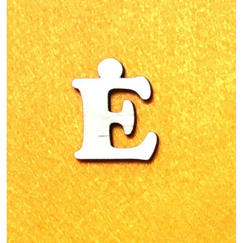 Raidė Ė (3 cm, 7 šriftas)