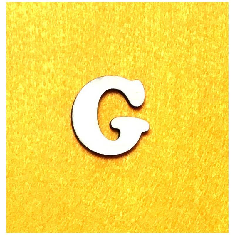 Raidė G (3 cm, 7 šriftas)
