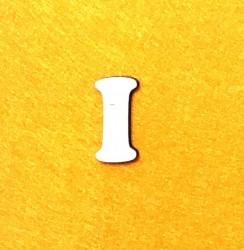Raidė I (3 cm, 7 šriftas)