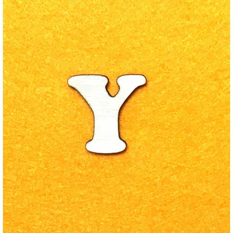 Raidė Y (3 cm, 7 šriftas)