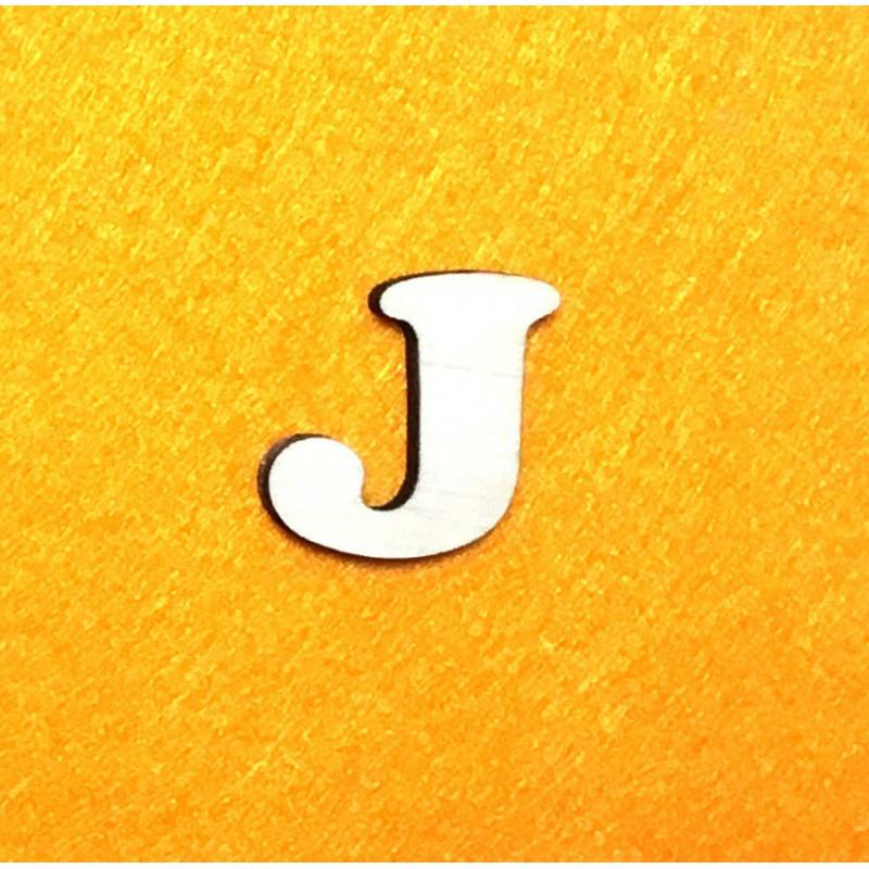 Raidė J (3 cm, 7 šriftas)