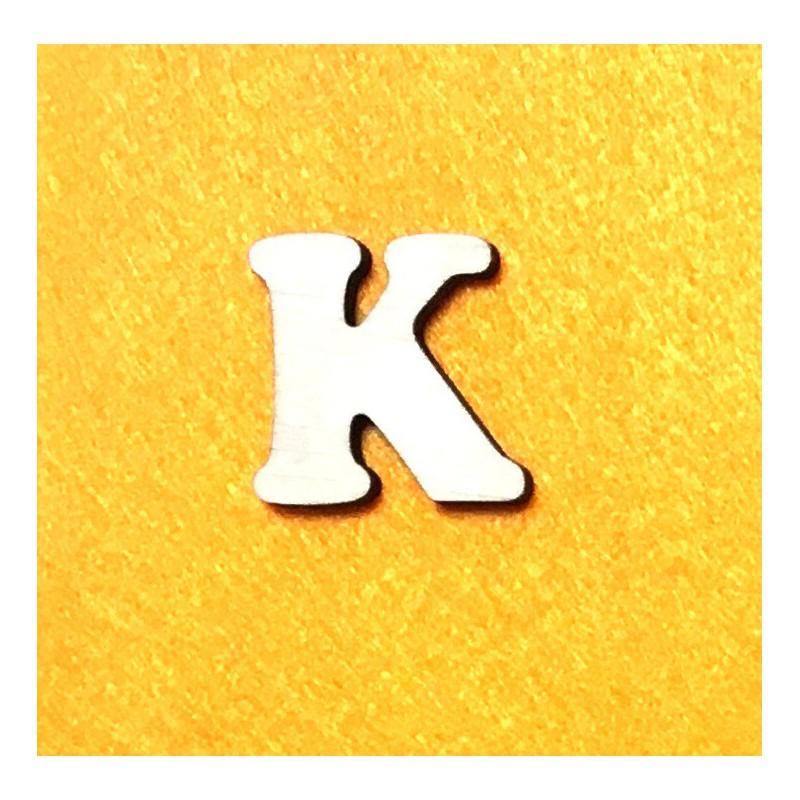 Raidė K (3 cm, 7 šriftas)