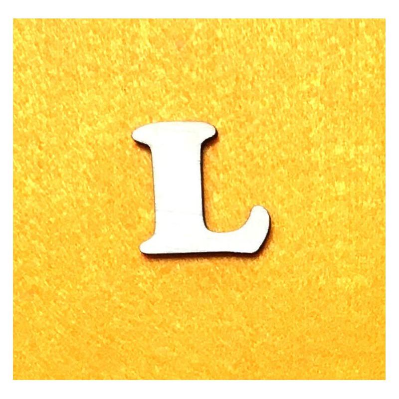 Raidė L (3 cm, 7 šriftas)