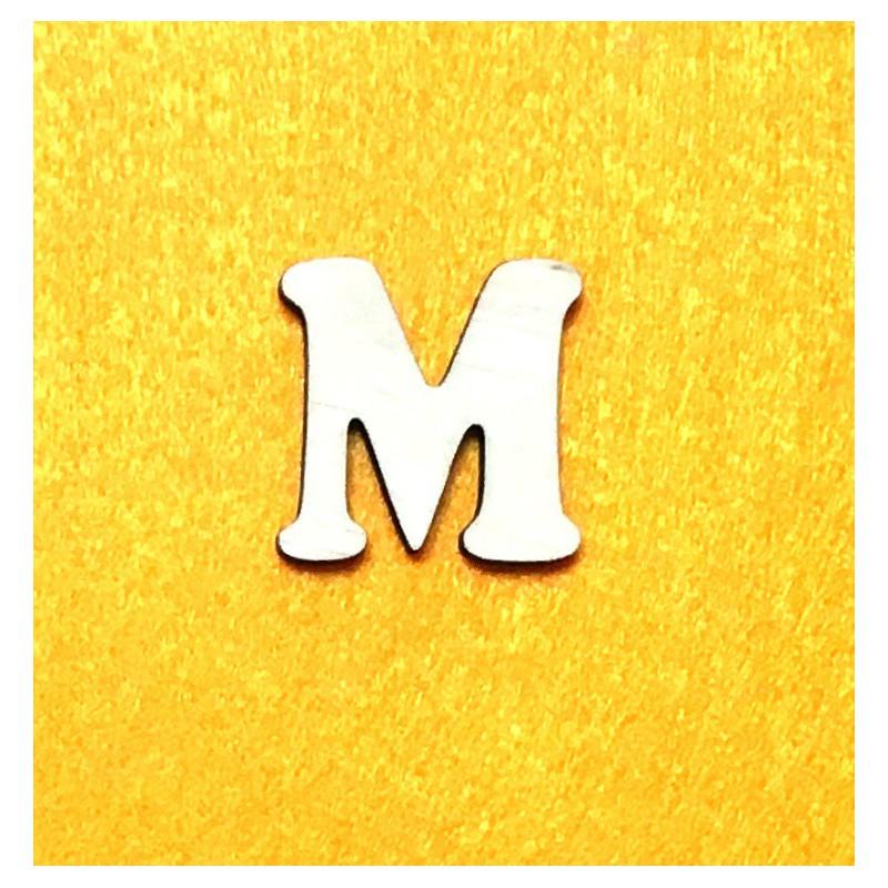 Raidė M (3 cm, 7 šriftas)