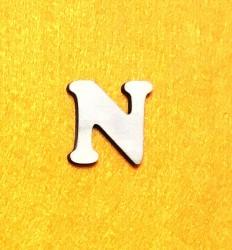 Letter N (3 cm)