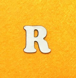 Letter R (3 cm)