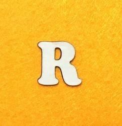 Raidė R (3 cm, 7 šriftas)
