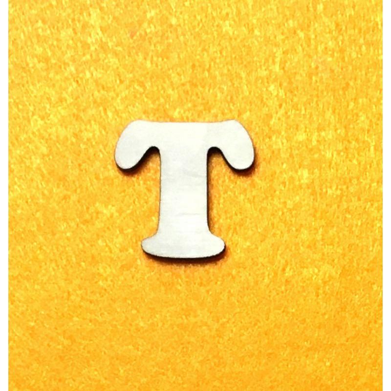 Raidė T (3 cm, 7 šriftas)