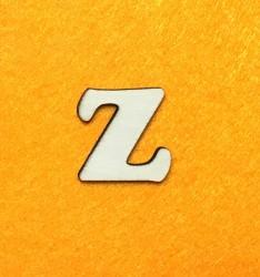 Raidė Z (3 cm, 7 šriftas)