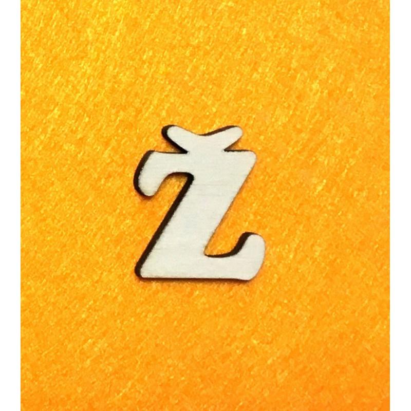 Raidė Ž (3 cm, 7 šriftas)