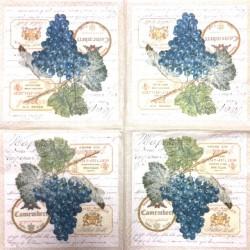 Napkin Grapes