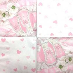 Servetėlė Batukai rožiniai