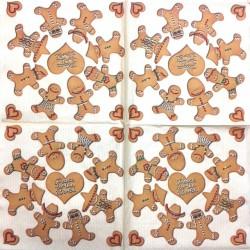 Servetėlė Sausainiai