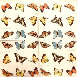 Napkin Butterflies