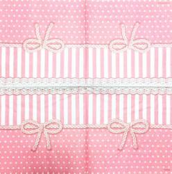 Napkin Ribbon pink