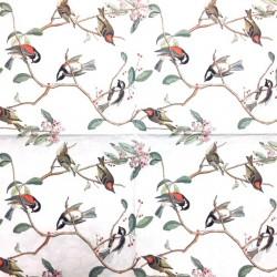 Servetėlė Paukščiai