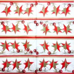 Servetėlė  Žvaigždė (raudona)