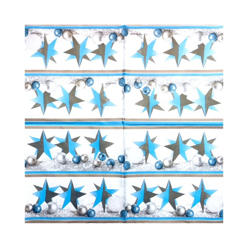 Servetėlė Žvaigždė (mėlyna)
