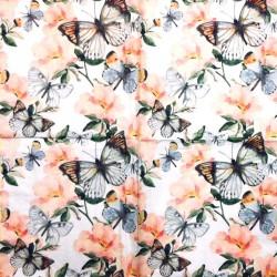 Servetėlė Drugeliai ir gėlės