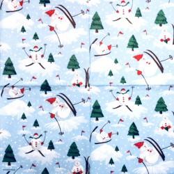 Napkin Snowman