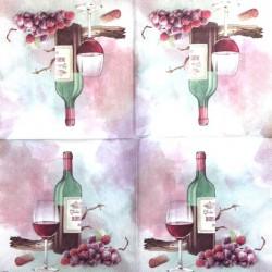 Napkin Red vine