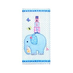 Handkerchief Elephant (blue)