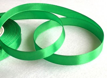 Satin Ribbon Green (1 m)