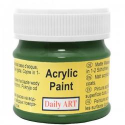 Matiniai akriliniai dažai Tamsiai žali (50 ml)