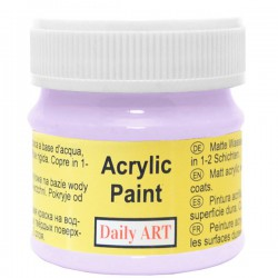 Acrylic paints Light purple...