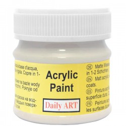 Acrylic paints Grey (50 ml)