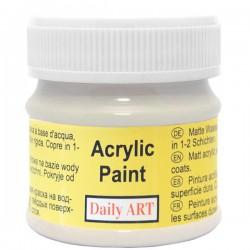 Matiniai akriliniai dažai Šiltai pilka (50 ml)