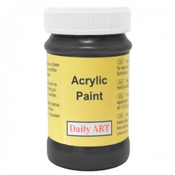 Acrylic paints Black (100 ml)