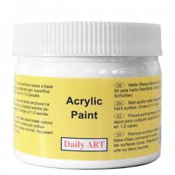 Matiniai akriliniai dažai Balti (300 ml)