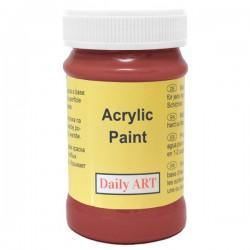 Matiniai akriliniai dažai Raudona orcha (100 ml)