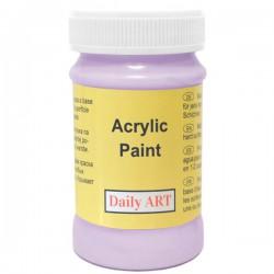Matiniai akriliniai dažai Šviesiai violetinė (100 ml)