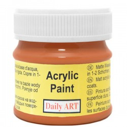 Matiniai akriliniai dažai Orchos (50 ml)