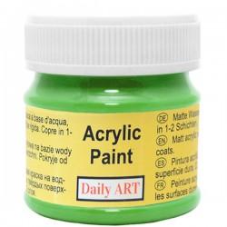 Matiniai akriliniai dažai Salotiniai (50 ml)