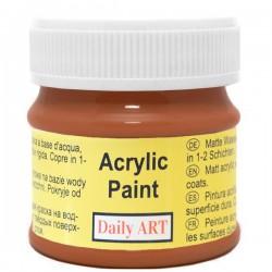Matiniai akriliniai dažai Rudas balnas (50 ml)