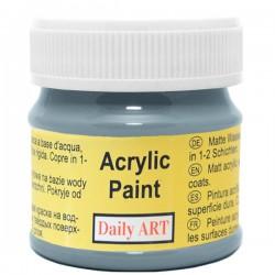 Matiniai akriliniai dažai Pilkas skalūnas (50 ml)