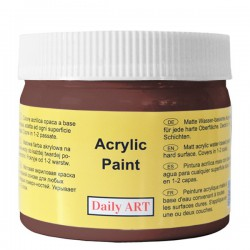 Matt paint Chocolate (300 ml)