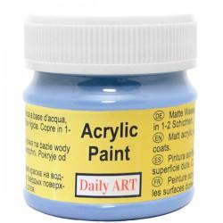 Matiniai akriliniai dažai Rugiagėlių mėlyni (50 ml)