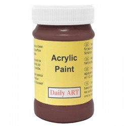 Dark brown paints (100 ml)