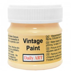 Kreidiniai akriliniai vintažiniai dažai Smėlio (50 ml)