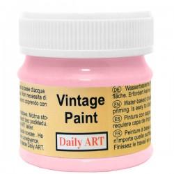 Kreidiniai akriliniai vintažiniai dažai Rausva (50 ml)