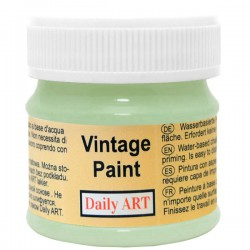 Chalky Acrylic paints Grey Green (50 ml)