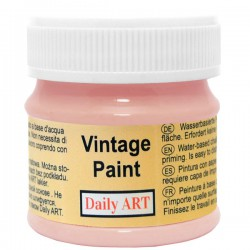 Chalky Acrylic paints Rose (50 ml)