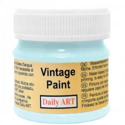 Kreidiniai akriliniai vintažiniai dažai Pastelinė mėlyna...