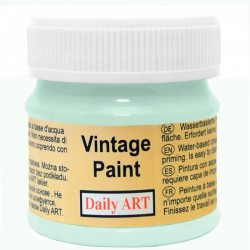 Chalky Acrylic paints Green Blue (50 ml)