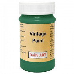 Chalky Acrylic paints Forest green (100 ml)